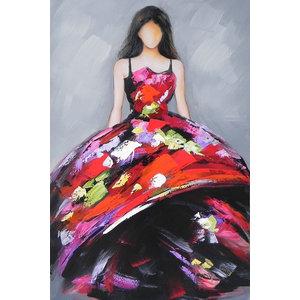 """Manichino"" Acrylic Painting, 80x100 cm"