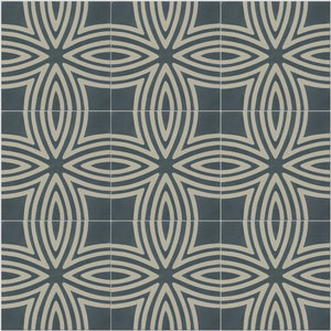Wired Pattern Tiles, Slate, Set of 12