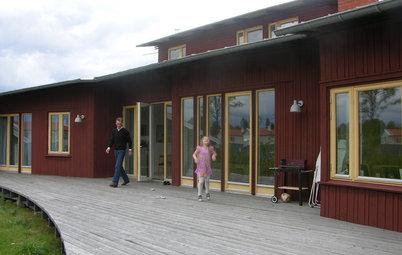 Houzz Tour: En villa med själ och hjärta i trä bland Smålands skogar