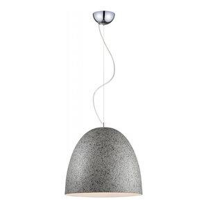 Stonehenge Pendant Lamp, Grey and Silver