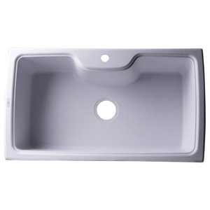 Latoscana Hr0860 Harmony Single Basin Drop In Kitchen Sink