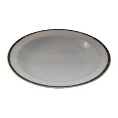 Bernardaud Antinea Anthracite Deep Dish