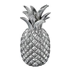 Elk Kohala Decorative Pineapple 3212-1025, Silver Plated