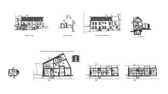 """Etat des lieux dimensionnel """"existant"""" Maison avant phase projet"""