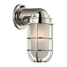Hudson Valley Lighting 240-Pn Carson Wall Sconce, Polished Nickel