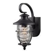 Hardware House Lantern, Textured Black
