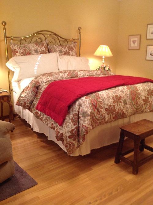 Help New Duvet For Master Bedroom Now What