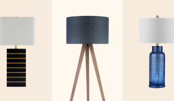 Table and Floor Lamps Under $199