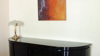 Série YELLOWSTONE - Peinture abstraite