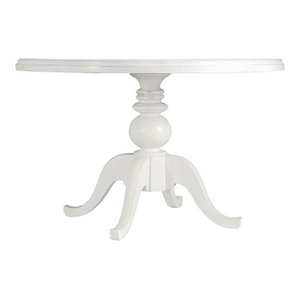 best coastal living retreat round pedestal table painted top