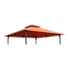 St. Kitts Replacement Canopy For 10' Canopy Gazebo -Terra Cotta
