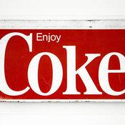 Cool Coke Sign