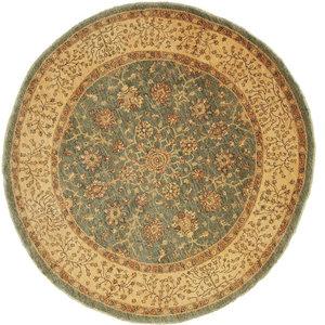 Ziegler Oriental Rug, Round, Pakistan Hand-Knotted, 274x274 cm