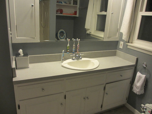 Question About Off Centered Faucet For Vanity Sink