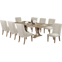 Transitional Dining Sets by All in One Furniture