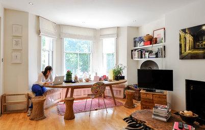 My Houzz:個性とアートが光るロンドンのアパートメント