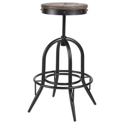 Industrial Bar Stools And Counter Stools by Benzara Inc