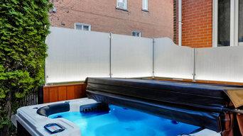 Glass Railling - Private Home