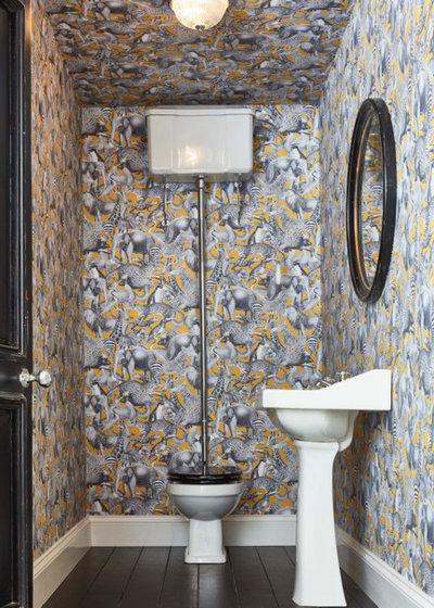 How Do I Wallpaper My Bathroom