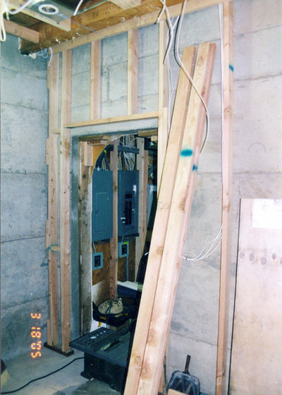 Run My Renovation A Combination Bar Game Room And Craft: From Run-down Basement To Bottoms-Up Wine Cellar