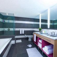 luxury bathroom interior design of gansevoort hoteljpg - Elements And Principles Of Interior Design