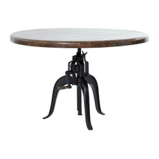 Rockwell Adjustable Round Dining Table