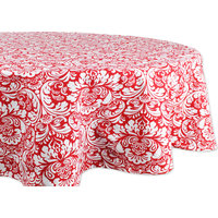 Indian Summer Check Tablecloth, 52x52