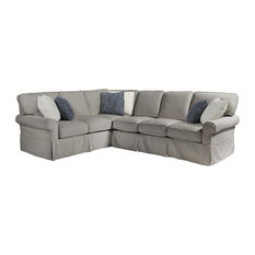 Escape Collection Ventura Right Arm Sectional Sofa Gray