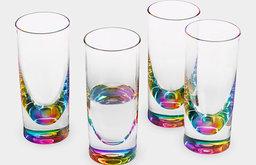 Rainbow Tumblers, Set of 4