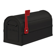 Heavy Duty Rural Mailbox - Black