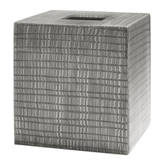 Delano Gray Tissue Holder