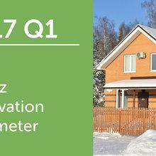 2017 Q1 U.S. Houzz Renovation Barometer