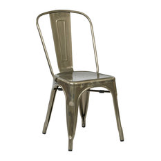 Shop Industrial Navy Blue Chair Products on Houzz