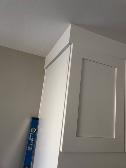 Is This Crown Molding Install Correct