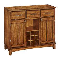 Home Styles Wood Top Cottage Oak Buffet