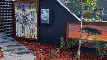 Corrugated Iron Artwork
