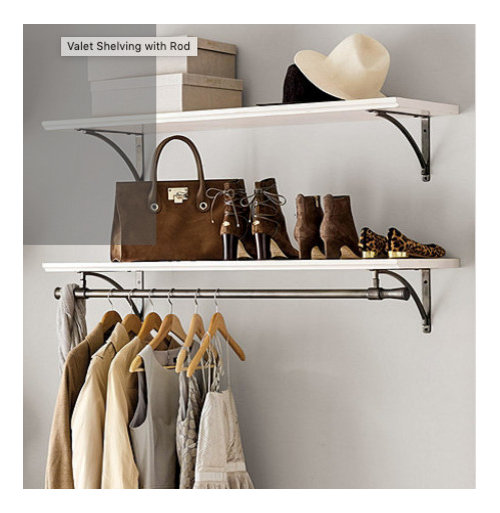 Pb Or Ballard Need Help Shelf With Hanging Rod For