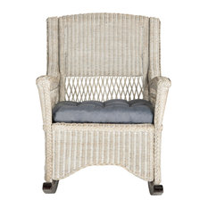 Aria Rocking Chair, Antique/Gray