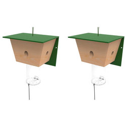 Farmhouse Birdhouses by BEST BEE BROTHERS, LLC