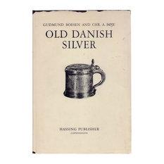 Decorative Book, Old Danish Silver