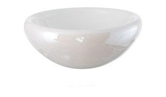 "Whitewashed Bowl, 13"" Pearl"