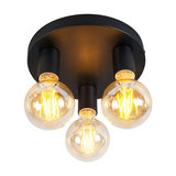Ceiling Lamp Facil 3 Black