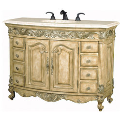 Best Traditional Bathroom Vanities And Sink Consoles by Ambella Home Collection Inc