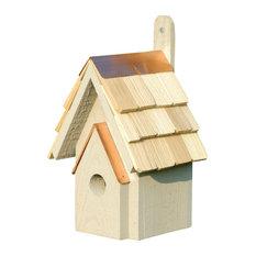 Classic Bird House, Smoke Gray
