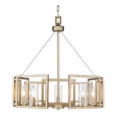 Golden Lighting 6068-5 Marco 5 Light Chandelier