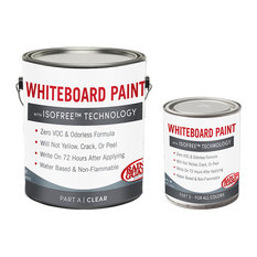 Whiteboard Paint with IsoFree™ Technology, Clear Gloss, 32 Oz- Quart Kit