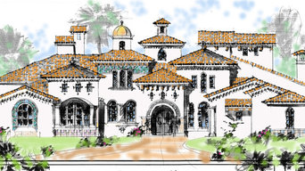 Andalusion Style Mediterranean Home Design 7,000 SF