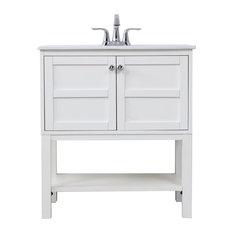 Elegant Decor 30-inch Single Bathroom Vanity Set