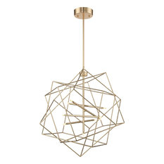 Stacia Pendant - French Gold, Large