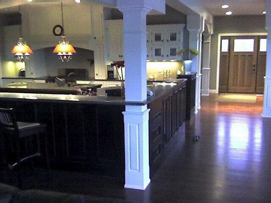 Interior Columns square interior columns